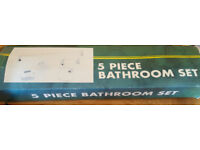Brand New 5 piece Bathroom Set