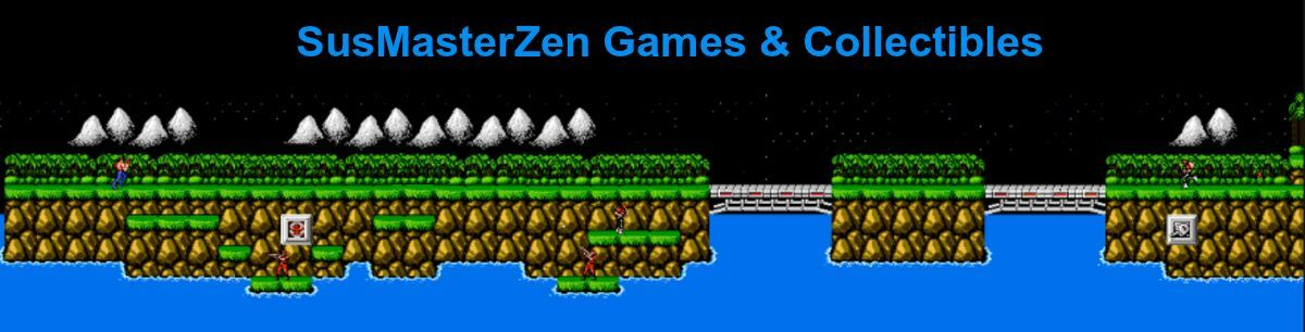 SUSMASTERZEN GAMES & COLLECTIBLES