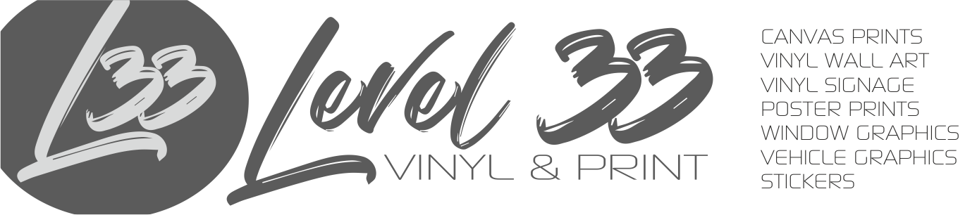 Level 33 Vinyl & Print
