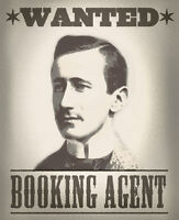 Booking Agent wanted!!