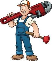 Experienced Plumber Available Weekends and Nights.