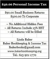 $40.00 Income Tax Returns