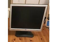 """17"""" flat screen monitor for sale"""