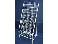 Greetings Card DVD CD Display Rack for Retail/Shop Space
