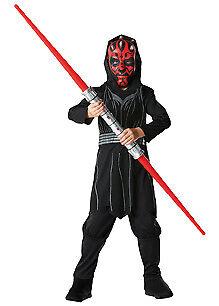 Star Wars Kinder Kostüm Darth Maul mit Maske und - Darth Maul Kostüm Maske