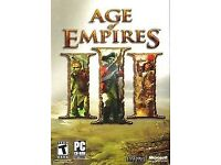 Age of empires 3 excellent condition