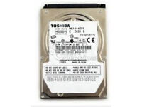 160GB Toshiba laptop hard drive SATA