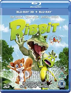 RIBBIT 3D BD UV - BLU-RAY - REGION B UK