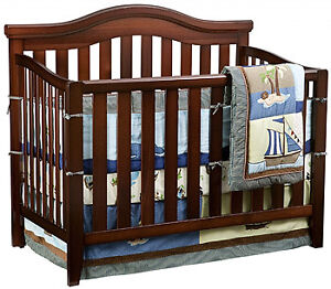 Delta 4-in-1 Convertible Crib – Cherry