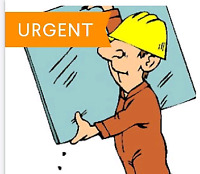 Experienced glazier needed $30-40$/h