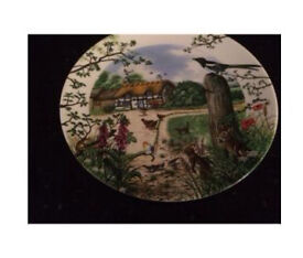 Wedgwood Country Panorama Series By Colin Newman Set Of 3 Plates