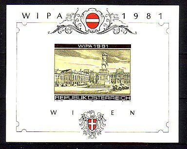 Österreich Block 5 B  postfrisch