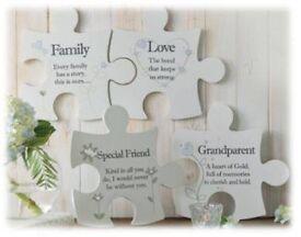 Family Jigsaw Wall Art