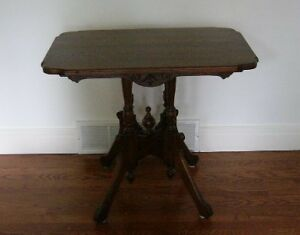Antique solid wood table London Ontario image 1