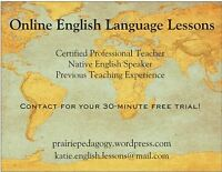 Online English Lessons with Qualified Teacher