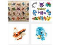 Pokemon small brick characters