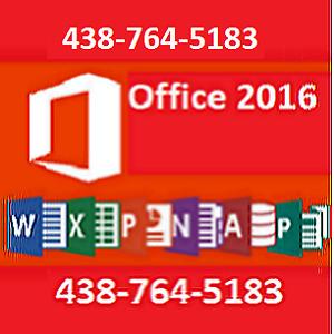 --CD Microsoft Office  2016--2013--//2010----Office 2016 Mac