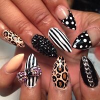 Formation cours ongles pose d'ongle Domicile spécial 200$