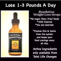 Lose Weight FAST with Resolution Drops by TLC