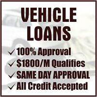 AFFORDABLE CAR LOANS IN BARRIE - GUARANTEED SAME DAY APPROVAL