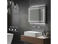 For Sale : HIB OUTLINE LANDSCAPE 80 LED Bathroom Mirror RRP £299