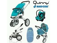 Quinny Buzz 3 Complete Travel System £ 200 ONO (currently in storage - photos can be requested)