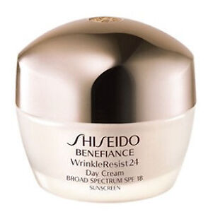New Shiseido Benefiance Wrinkle Resist 24 Day Cream SPF 18-1