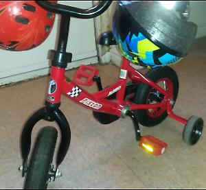 red boys bike