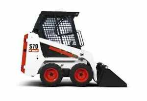 I want to  rent to own  s70 bobcat