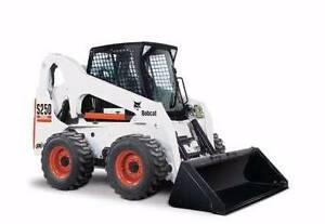 BOBCAT HIRE - SKID STEER LOADER DRY HIRE - 4IN1 BUCKET & TRAILER Belmore Canterbury Area Preview