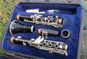 SELMER CLARINET,BACH TRUMPET FOR $100.00 EACH