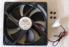 DC Brushless PC Cooling Fan ~ Brand New