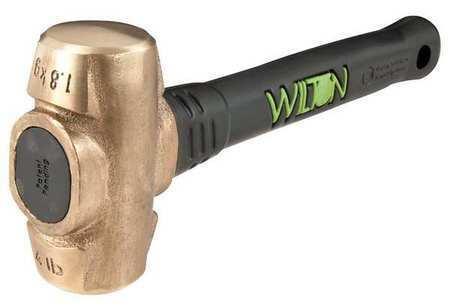 Wilton 90412 Sledge Hammer,4 Lb.,12 In,rubber/steel