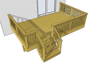 RENOVATIONS,DECKS, DECK LEVELING, DRYWALL, WE DO IT ALL