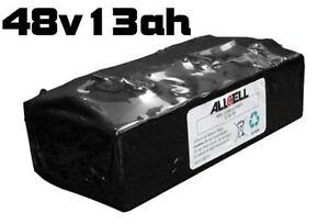 Batteries lithiym-ion 48v.11a.h. pour vélos électriques