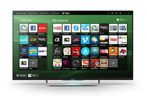smart tv sony 50p,presq neuf,led,1080p,wifi,youtub,netflix,wow