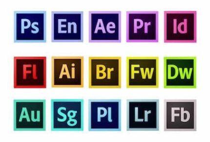 Mac IOS  2017& 2015 Adobe software