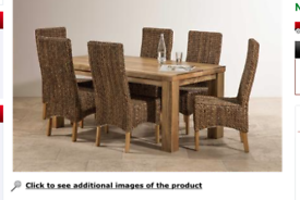 Mango Dining Room Table and Chairs