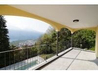 For RENT or SALE in Switzerland: Luxury Duplex-Apartment with 6 ½ rooms and swimming pool