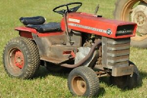 WANTED: older style garden tractor