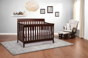 Storkcraft Avalon 4-in-1 Convertible Crib - Espresso