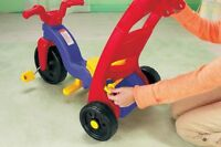trike, tricycle, Rock n Roll, Fisher Price