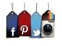Volunteer in Social Media for Fashion/Textiles Company