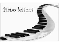 **Piano Lessons. Very high distinction pass rate on exams***