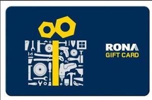 Rona and Home Depot Gift Cards