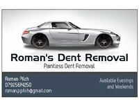 Roman's Dent Removal (Paintless)