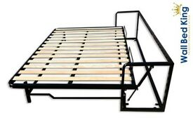 Wall bed Classic, small double Horizontal 120x200