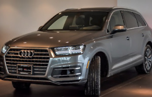 Audi Q7 2017 Lease takeover