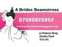 A Brides Seamstress. For all your alterations & design.
