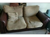FREE DELIVERY 2 Seater couch sofa-bed